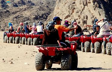 Quad Biking in Sinai Desert 2